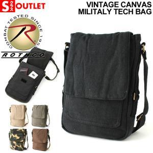 アウトレット 返品・交換・キャンセル不可|ロスコ バッグ ショルダーバッグ ミニ 縦 メンズ レディース 5795 米軍|ROTHCO|斜めがけバッグ キャンバス|f-box