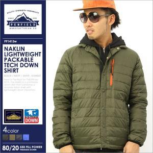 ペンフィールド ダウンジャケット メンズ PF1413|大きいサイズ USAモデル ブランド Penfield|軽量 防寒 アウター ブルゾン ジャケット|f-box