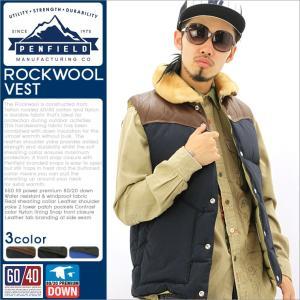 ペンフィールド ダウンベスト メンズ PFM121057215|大きいサイズ USAモデル ブランド Penfield|グースダウン プレミアムダウン 軽量 防寒 アウター ブルゾン|f-box