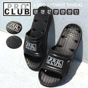 プロクラブ シャワーサンダル メンズ|大きいサイズ USAモデル ブランド PRO CLUB|スポーツサンダル|f-box
