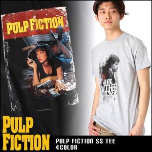 パルプ・フィクション Tシャツ 半袖 メンズ プリント|大きいサイズ USAモデル Pulp Fiction|半袖Tシャツ 映画 バッドマザーファッカー|f-box