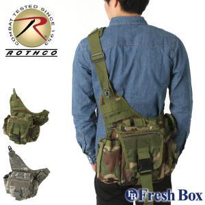 ロスコ バッグ ショルダーバッグ メンズ レディース USAモデル 米軍|ブランド ROTHCO|ボディバッグ ワンショルダー 斜めがけ ミリタリー|f-box
