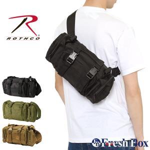 ロスコ バッグ ショルダーバッグ 3WAY メンズ レディース 23610 23620 USAモデル 米軍|ブランド ROTHCO|ボディバッグ ウエストポーチ ワンショルダー|f-box