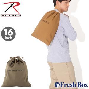 ROTHCO ロスコ バッグ ランドリーバッグ キャンバス ミリタリー アウトドア キャンプ 旅行用 (USAモデル)|f-box