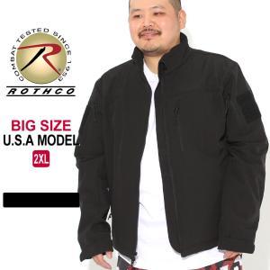 [ビッグサイズ] ロスコ ジャケット フリースライナー ソフトシェル メンズ 大きいサイズ USAモデル 米軍|ブランド ROTHCO|f-box