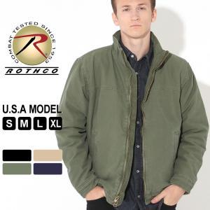 ロスコ ジャケット キルティング メンズ 大きいサイズ 5385 USAモデル 米軍|ブランド ROTHCO|ミリタリージャケット|f-box
