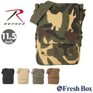 ロスコ バッグ ショルダーバッグ ミニ 縦 メンズ レディース 5795 USAモデル 米軍|ブランド ROTHCO|斜めがけバッグ キャンバス ミリタリー|f-box