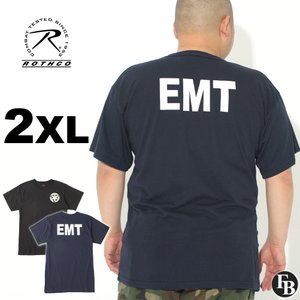 [ビッグサイズ] ロスコ Tシャツ 半袖 クルーネック EMT メンズ 大きいサイズ USAモデル|ブランド ROTHCO|半袖Tシャツ アメカジ ミリタリー|f-box