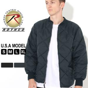 ロスコ キルティングジャケット サーマルライニング メンズ フライトジャケット 大きいサイズ USAモデル 米軍 ブランド ROTHCO f-box