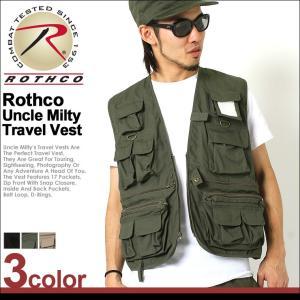 ロスコ ベスト メンズ 大きいサイズ USAモデル 米軍|ブランド ROTHCO|ミリタリー ポケット アウトドア フィッシングベスト 釣り 作業用|f-box
