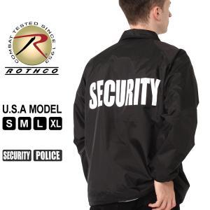 ロスコ ジャケット メンズ コーチジャケット バックプリント 大きいサイズ 7646 7648 USAモデル 米軍|ブランド ROTHCO|ナイロンジャケット ミリタリー|f-box