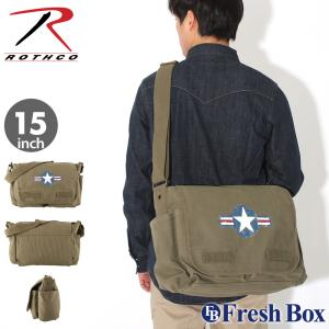 ROTHCO ロスコ バッグ メンズ 斜め掛け メッセンジャーバッグ ショルダーバッグ ブランド ミリタリー 米軍 [rothco-9756] (USAモデル) f-box