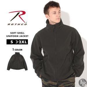 ロスコ ジャケット メンズ ソフトシェルジャケット 大きいサイズ 9834 USAモデル 米軍|ブランド ROTHCO|軽量 撥水 防寒 ミリタリー 無地|f-box