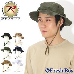 ロスコ 帽子 サファリハット メンズ レディース ブーニーハット 大きいサイズ USAモデル 米軍|ブランド ROTHCO|ミリタリー アウトドア 無地 迷彩|f-box