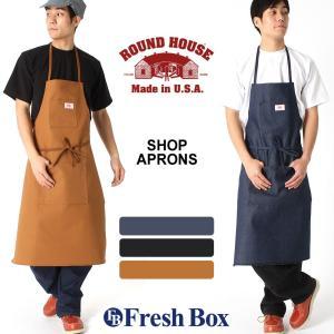 ROUND HOUSE ラウンドハウス エプロン 大きいサイズ 男性用 エプロン 男性用 大きいサイズ メンズ 作業着 作業服 f-box