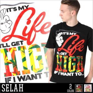 セラー Tシャツ 半袖 メンズ プリント|大きいサイズ USAモデル ブランド セラ SELAH|半袖Tシャツ パロディ ロゴT|f-box