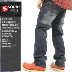 SOUTHPOLE サウスポール ジーンズ メンズ 人気 デニム ジーンズ 大きいサイズ メンズ アメカジ ブランド ストリート (14321-3107)|f-box