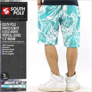 サウスポール/ハーフパンツ/メンズ/大きいサイズ/柄/プリント/ハーフパンツ スウェット/サルエルパンツ/おしゃれ/アメカジ/ストリート|f-box