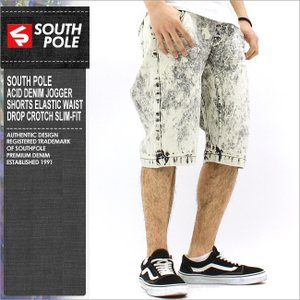 サウスポール ハーフパンツ メンズ デニム ジーンズ 大きいサイズ ハーフパンツ デニム|f-box