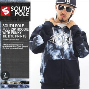 パーカー/メンズ/大きいサイズ/ジップアップパーカー/ジップアップ/スウェット/アメカジ/ストリート/サウスポール/SOUTH POLE|f-box