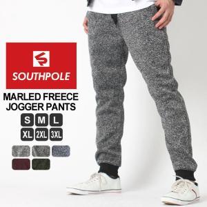 SOUTH POLE サウスポール ジョガーパンツ メンズ 大きいサイズ メンズ スウェットパンツ メンズ 裏起毛|f-box