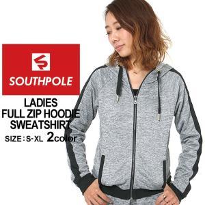 サウスポール パーカー ジップアップ レディース 15323-1512|大きいサイズ USAモデル ブランド SOUTH POLE|スウェット フルジップ XL LL 2L|f-box