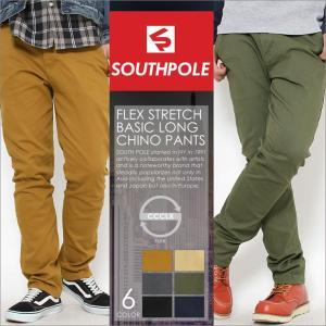 チノパン スリム ストレッチ メンズ|大きいサイズ USAモデル ブランド サウスポール SOUTH POLE|f-box
