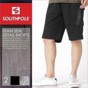 サウスポール (SOUTH POLE) ハーフパンツ メンズ スウェット バイカー ファッション スウェット ハーフパンツ メンズ ショートパンツ メンズ 大きいサイズ|f-box