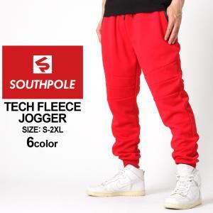 サウスポール ジョガーパンツ スウェット スリム メンズ|大きいサイズ USAモデル ブランド SOUTH POLE|スウェットパンツ 細身 ストリート XL XXL LL 2L 3L|f-box