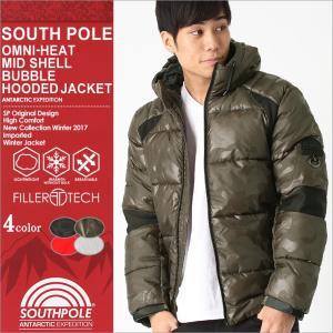サウスポール 中綿ジャケット 迷彩 メンズ|大きいサイズ USAモデル ブランド SOUTH POLE|防寒 撥水 アウター ブルゾン XL XXL LL 2L 3L|f-box