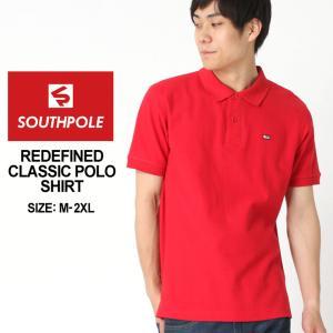 サウスポール ポロシャツ 半袖 無地 メンズ|大きいサイズ USAモデル ブランド SOUTH POLE|半袖ポロシャツ ストリート|f-box