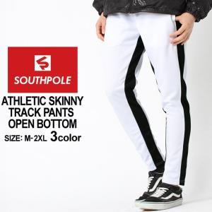 サウスポール ジャージ パンツ ラインパンツ メンズ トラックパンツ 大きいサイズ USAモデル ブランド SOUTH POLE ラインパンツ 下 f-box
