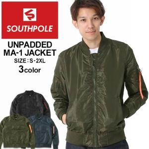 サウスポール MA-1 薄手 メンズ フライトジャケット|大きいサイズ USAモデル ブランド SOUTH POLE|アウター ブルゾン ジャケット XL XXL LL 2L 3L|f-box