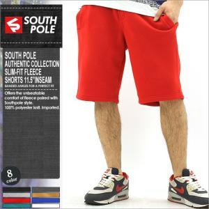 サウスポール ハーフパンツ メンズ 大きいサイズ 無地 ハーフパンツ スウェット サルエルパンツ おしゃれ|f-box