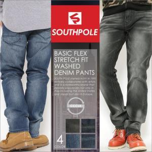 SOUTH POLE サウスポール ジーンズ メンズ ストレート デニム メンズ デニムパンツ 大きいサイズ ジーンズ メンズ ブラック 大きいサイズ メンズ|f-box