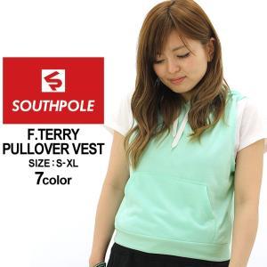 サウスポール ベスト スウェット レディース 9003-1531|USAモデル ブランド SOUTH POLE|プルオーバー 大きいサイズ 小さいサイズ|f-box