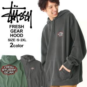 ステューシー パーカー プルオーバー メンズ 裏起毛|大きいサイズ USAモデル ブランド STUSSY|スウェット ストリート XL XXL LL 2L 3L|f-box