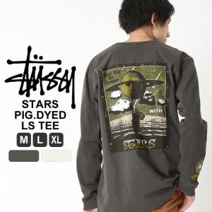 STUSSY ステューシー Tシャツ 新作stussy ステューシー ロンT メンズ ストリート ブランド 大きいサイズ メンズ Tシャツ|f-box