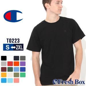 チャンピオン Tシャツ 半袖 無地 メンズ 大きいサイズ USAモデル|ブランド 半袖Tシャツ ロゴ アメカジ|f-box