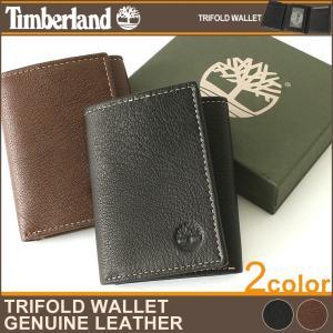 ティンバーランド 財布 三つ折り メンズ 本革 レザー|USAモデル ブランド Timberland|ミニ財布 三つ折り財布 アメカジ|f-box