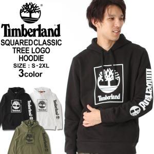 ティンバーランド パーカー プルオーバー ロゴ プリント メンズ 裏起毛|大きいサイズ USAモデル ブランド Timberland|アメカジ|f-box