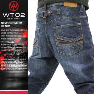 WT02 ジーンズ メンズ ストレート デニム ジーンズ ブランド アメカジ ストリート 人気 通販 大きいサイズ wt02 new york wt02 jeans|f-box