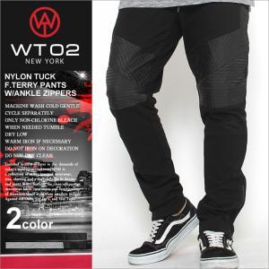 wt02 スウェット バイカーパンツ メンズ スウェットパンツ 大きいサイズ バイカーファッション ブランド|f-box