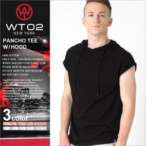 (WT02) Tシャツ メンズ 半袖 無地 ストリート Tシャツ メンズ ロング丈 tシャツ フード付き パーカー 半袖 メンズ パーカー 夏|f-box