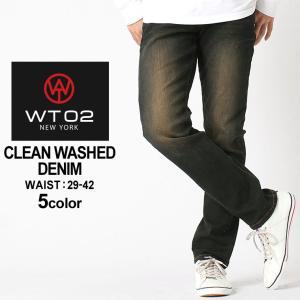 WT02 ジーンズ メンズ 17391-3001|大きいサイズ USAモデル ブランド ダブルティー02|ジーパン デニムパンツ ストリート 36インチ 38インチ 40インチ 42インチ|f-box