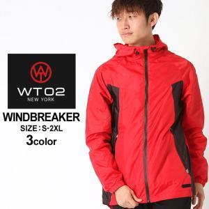 WT02 ウィンドブレーカー メンズ 17391-5130|大きいサイズ USAモデル ブランド ダブルティー02|ナイロンジャケット 防寒 アウター ブルゾン ストリート|f-box