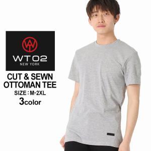 WT02 Tシャツ 半袖 無地 メンズ 18191-1461|大きいサイズ USAモデル ブランド ダブルティー02|半袖Tシャツ ストリート|f-box