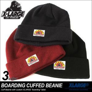 エクストララージ ニット帽 メンズ レディース 帽子 M17D9203|USAモデル ブランド X-LARGE|ニットキャップ ビーニー ストリート|f-box