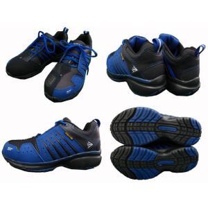 ダンロップ 安全靴 マグナムST301 (ブルー) [ひも靴モデル] ●24cm〜30cm f-club 02