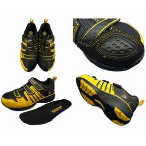 ダンロップ 安全靴 マグナムST302 (イエロー) [マジックテープモデル] ●24cm〜30cm|f-club|03